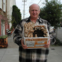 Don Simoni showing shaggy mane kit