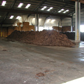 Indoor composting at Colusa, CA